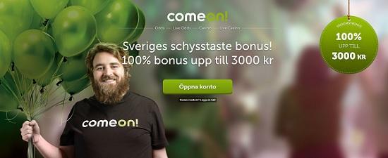 Betta på Allsvenskan 2018 med oddsbonus