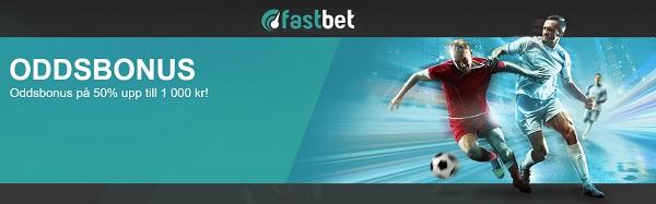FastBet oddsbonus