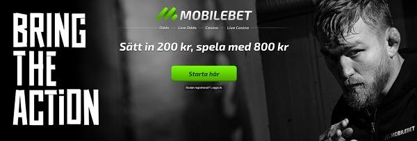 Mobilebet oddsbonus