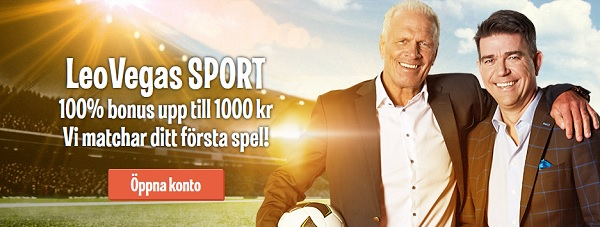 Spela betting online hos LeoVegas