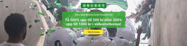 Unibet bonus 2017