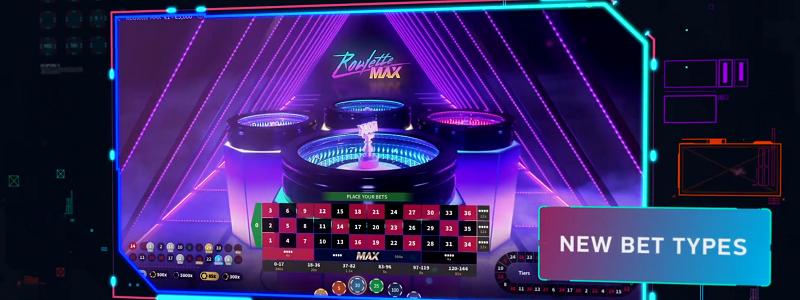Roulette MAX nytt spel från NetEnt